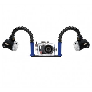 Ikelite Compact RX100 M2 Underwater Housing for Sony RX100 II (M2) w/Dual Sea & Sea YS-01 Strobe