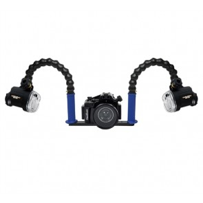 Nauticam NEX-5R/5T Underwater Housing for Sony NEX-5R/5T w/Dual Sea & Sea YS-01 Strobe
