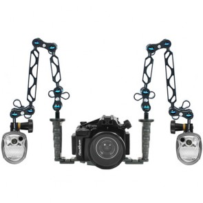 Nauticam NA-NEX5R Underwater Housing for Sony NEX-5R/NEX-5T w/Dual Sea & Sea YS-01 Strobe