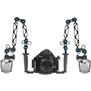 Nauticam NA-OMD Underwater Housing for Olympus OM-D EM-5 w/Dual Sea & Sea YS-01 Solis Strobe