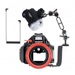 Olympus PT-EP13 Underwater Housing for Olympus E-M5II w/Sea & Sea YS-01