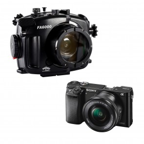 Sony a6000 With 16-50mm Lens AND Fantasea Underwater Housing Bundle