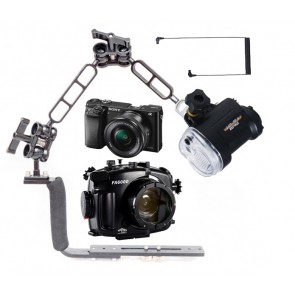 Mozaik Underwater Camera Housing Light Bundle MOZ-FA6000-YS-01- 01