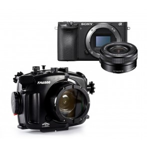 Fantasea FA6500 Underwater Housing AND Sony A6500 Camera w/ 16-50mm Lens and Port