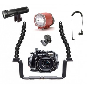 Fantasea Underwater Housing Light Bundle MOZ-FG7XIII-LTKIT1- 01
