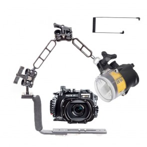 Fantasea FG7XIII Underwater Housing for Canon G7X III w/Sea & Sea YS-D2J