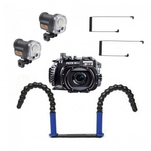 Fantasea FG7XIII Underwater Housing for Canon G7X III w/Dual YS-03