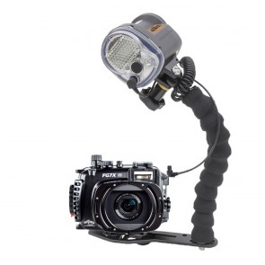 Fantasea FG7XIII Underwater Housing for Canon G7X III w/Sea & Sea YS-03 Solis
