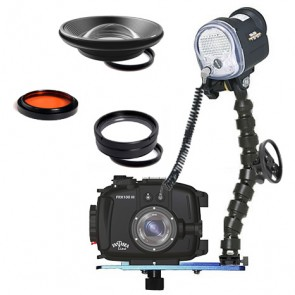 Fantasea FRX100III Underwater Housing for Sony RX100 III w/Sea & Sea YS-01