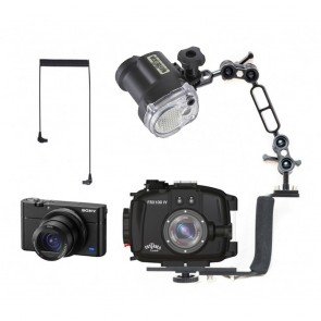 Fantasea FRX100 V Underwater Housing AND Sony RX100 VA Camera w/Sea & Sea YS-01