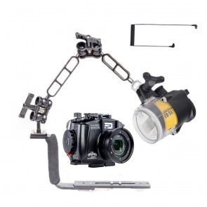 Fantasea FRX100VI Underwater Housing for Sony RX100 VII / VI w/Sea & Sea YS-D2J