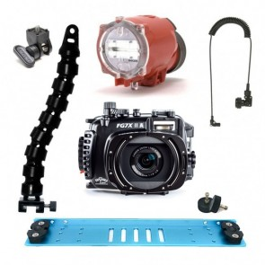 Fantasea FG7XII A Underwater Housing for Canon G7X II w/Inon S-2000