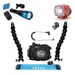 Fantasea FG7XII Underwater Housing for Canon G7X II w/Inon S-2000 Fantasea Radiant 2500