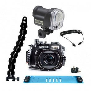 Fantasea FG7XII A Underwater Housing for Canon G7X II w/Sea & Sea YS-01