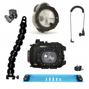 Fantasea FG7XII Underwater Housing for Canon G7X II w/Inon Z-240