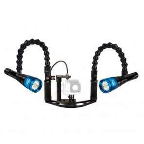 Dual Radiant Fantasea 2500 -  Mounted on a BTS Boomerang Tray w/Trigger System Light Set
