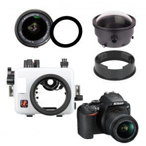 Ikelite  Underwater Housing AND Nikon D3500 Camera