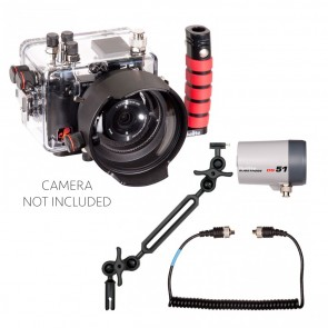 Ikelite  Underwater Housing for Sony A6000 w/Ikelite DS-51