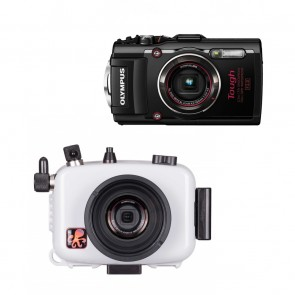 Ikelite 6233.04 Underwater Housing AND Olympus TG-4 Camera