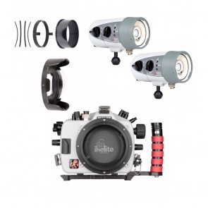 Josh's Kit - Nikon D500 with Ikelite Housing and Dual DS160 Strobes