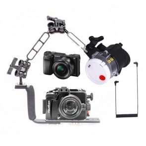 Mozaik NA-A6000 Underwater Housing AND Sony A6000 Camera w/Sea and Sea YS-D2 -