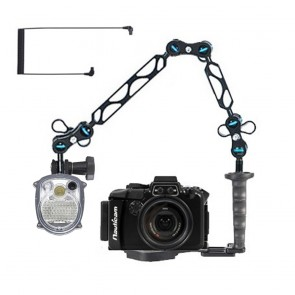 Nauticam NA-RX100M3 Underwater Housing for Sony RX100 III w/Sea & Sea YS-01 Solis Strobe