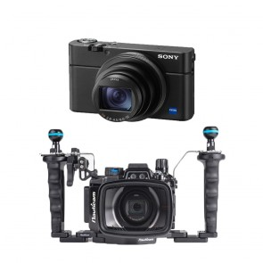 Nauticam NA-RX100VI Underwater Housing AND Sony RX100 VI Camera