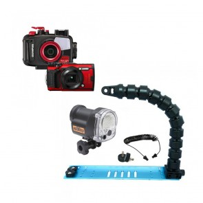 Patrick's Kit -  Olympus TG-6 with Olympus PT-059 Housing and Sea & Sea YS-03 Strobe