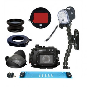 Fantasea FG7X Underwater Housing for Canon G7X w/S&S YS-01 Strobe