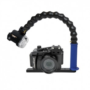 Nauticam NA-RX100M2 Underwater Housing for Sony RX100 II (M2) w/Sea & Sea YS-01 Strobe