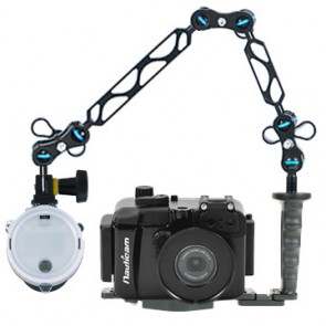 Nauticam NA-S110 Underwater Housing for Canon S110 w/Sea & Sea YS-D1 Strobe