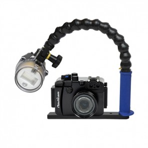 Nauticam NA-G15 Underwater Housing for Canon G15 w/Sea & Sea YS-D1 Strobe