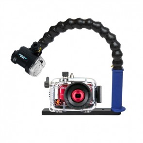 Mozaik Compact L28 Underwater Housing AND Nikon L28 Camera w/Sea & Sea YS-02 Strobe
