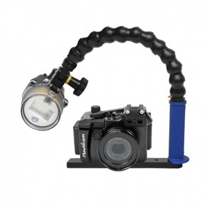 Nauticam NA-RX100M2 Underwater Housing for Sony RX100 II (M2) w/Sea & Sea YS-D1 Strobe