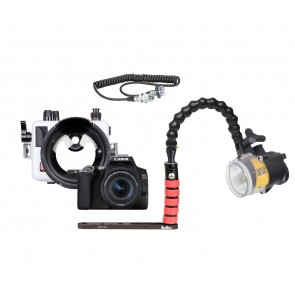 Ikelite 6970.08 Underwater Housing AND Canon SL3 Camera w/S&S YS-D2J Strobe