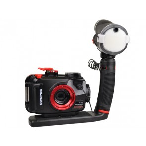 Olympus PT-056 Underwater Housing for Olympus TG-4 w/Sealife Sea Dragon Flash