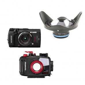 Olympus PT-058 Underwater Housing AND Olympus TG-5 Camera with KRL-02