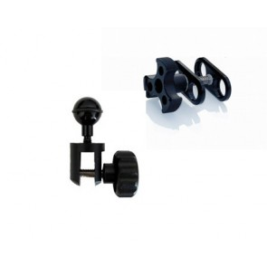 "Mozaik - YS to BJ Adapter - Mount 1"" Ball on YS Flex Arm with Clamp"