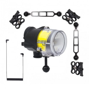 Sea & Sea YS-D2J -  Mounted on a Ocean Tray BJ Arm Kit Light Set