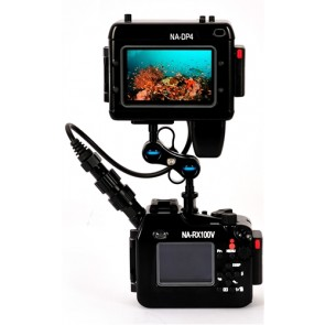 Nauticam RX100V Underwater Housing for Sony RX100