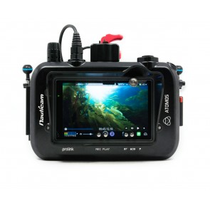 Nauticam - Housing for Atomos Shogun 10 Bit 4K SDI/HDMI Recorder Monitor