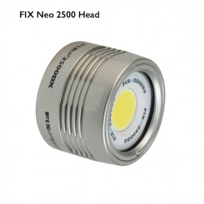 FIX Neo Light (Head only) 2500 Lumen (2500 Lumens) Underwater Video Light