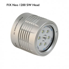 FIX Neo 1200 DX Light SW (Head Only) (1200 lumen (Wide) / 720 lumen (Spot) Lumens) Underwater Video Light