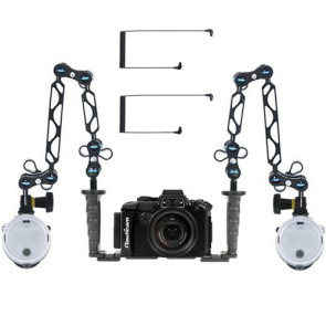 Nauticam  Underwater Housing for Sony RX100 III w/Dual Sea & Sea YS-D2