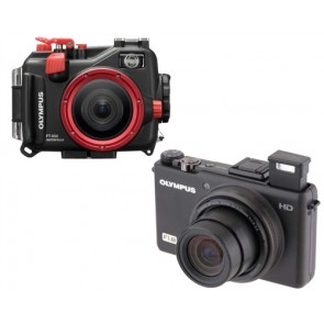 Olympus Underwater Housing PT-050 AND XZ-1 Digital Camera