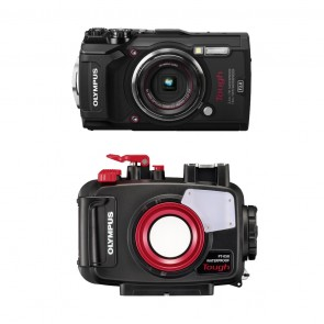 Olympus Underwater Camera and Housing Bundle