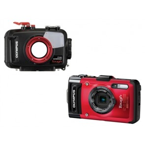 PT-053 Underwater Housing AND Olympus TG-2 Digital Camera