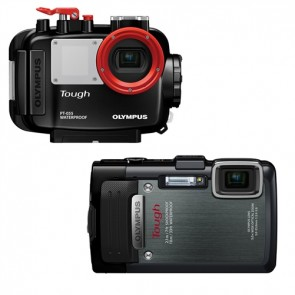 PT-055 Underwater Housing AND Olympus TG-830 Digital Camera