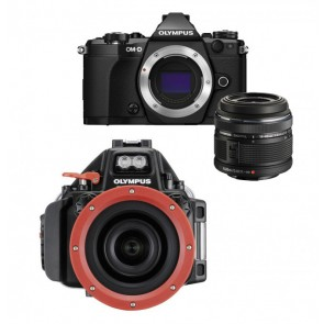Olympus OM-D E-M5 Mark II With 14-42mm Lens AND Olympus Underwater Housing Bundle
