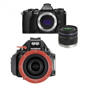Olympus OM-D E-M5 Mark II With 9-18mm Lens AND Olympus Underwater Housing Bundle